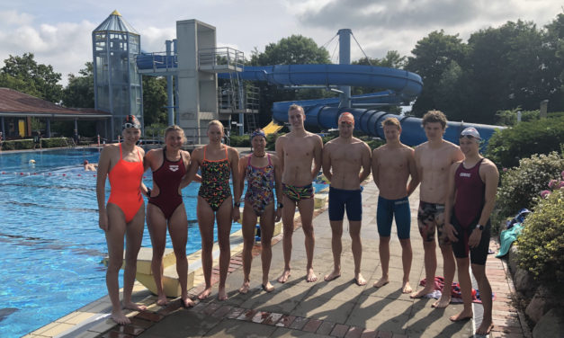 Swim&Run in Brokdorf und Wilster